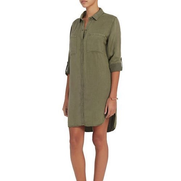 251e19d19b Rails karlie Army green Karlie shirt dress L. M 5a7547c8a4c4859c2a33d272